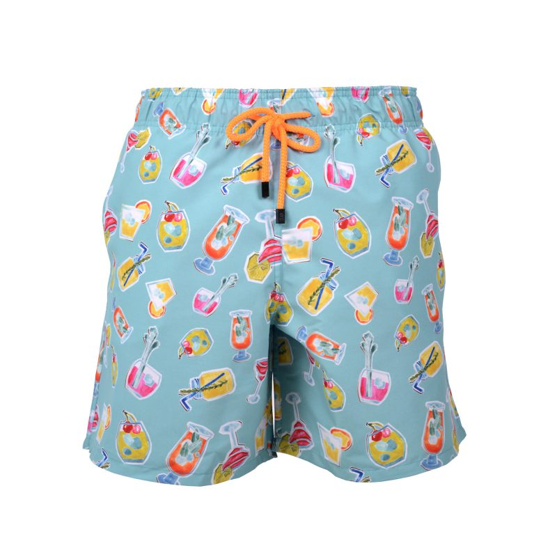 cocktails swim shorts front