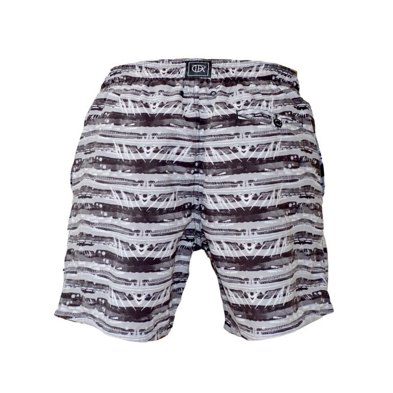 earth swim shorts back