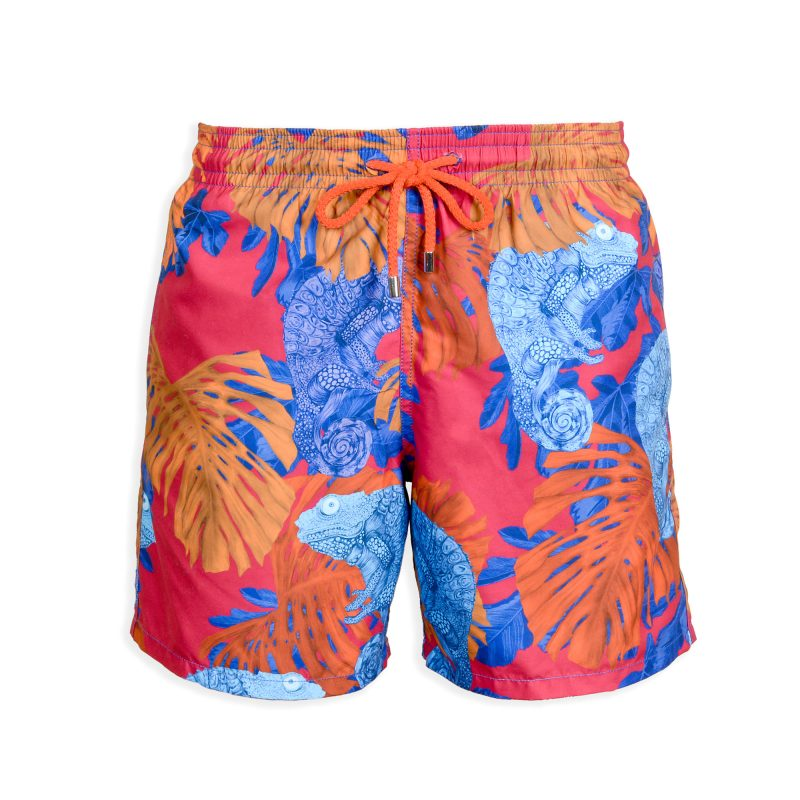 ghost of summer swim shorts front