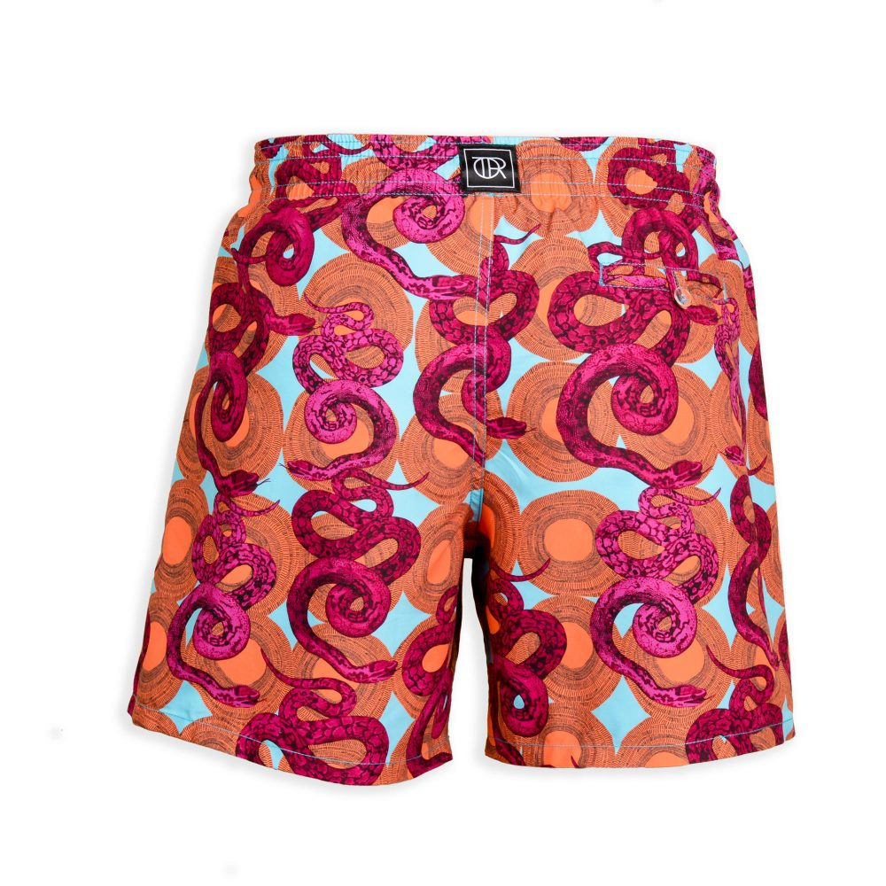 heart of darkness swim shorts back