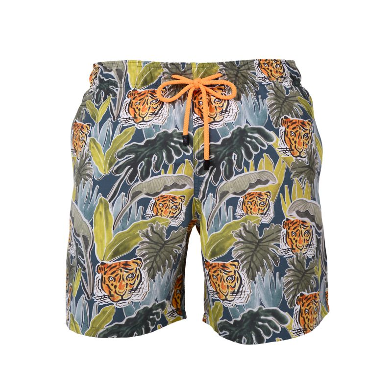 jungle swim shorts front