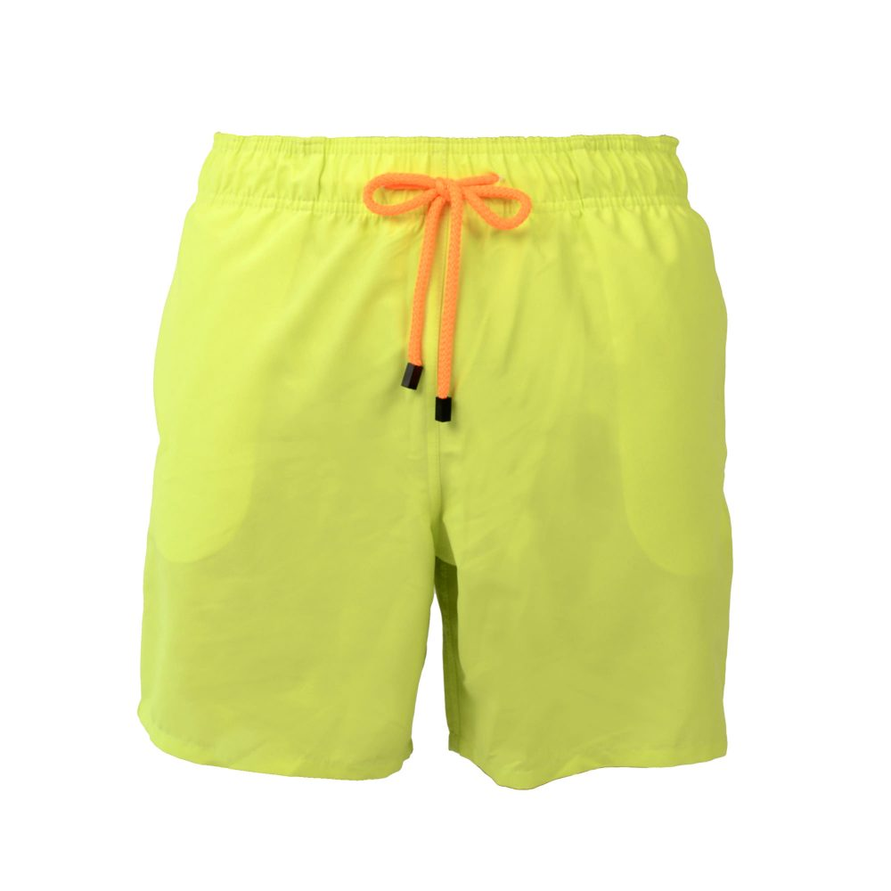 lime swim shorts front
