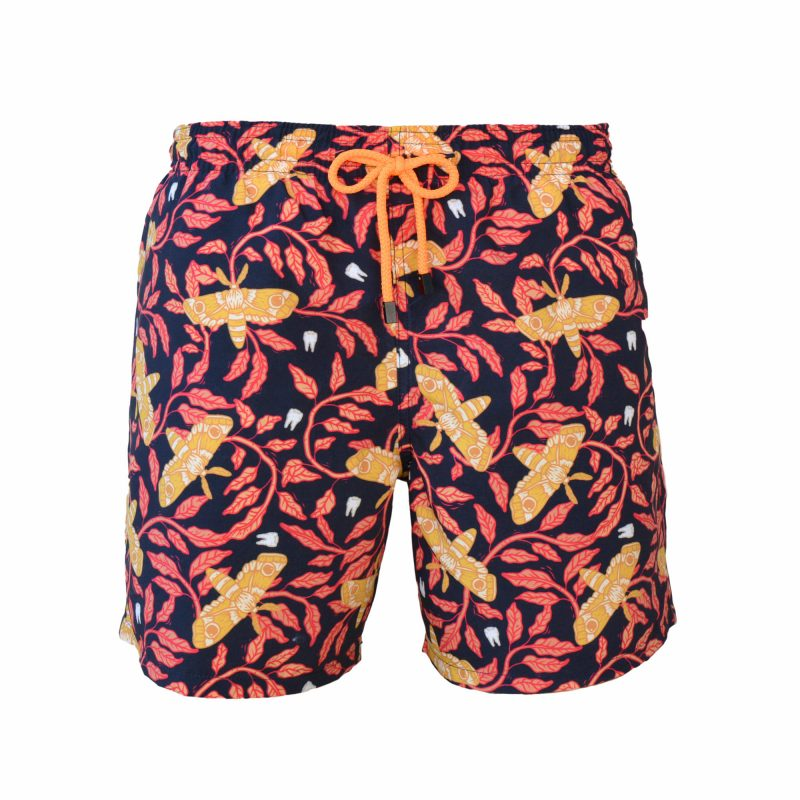 moth swim shorts front
