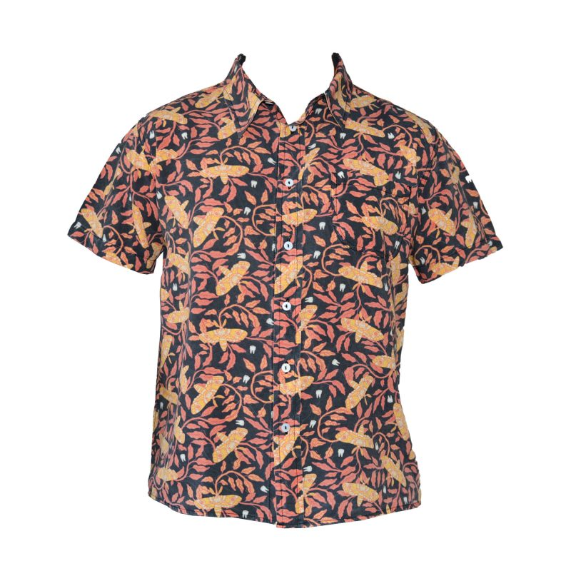 hawaiian tiger moth shirt front