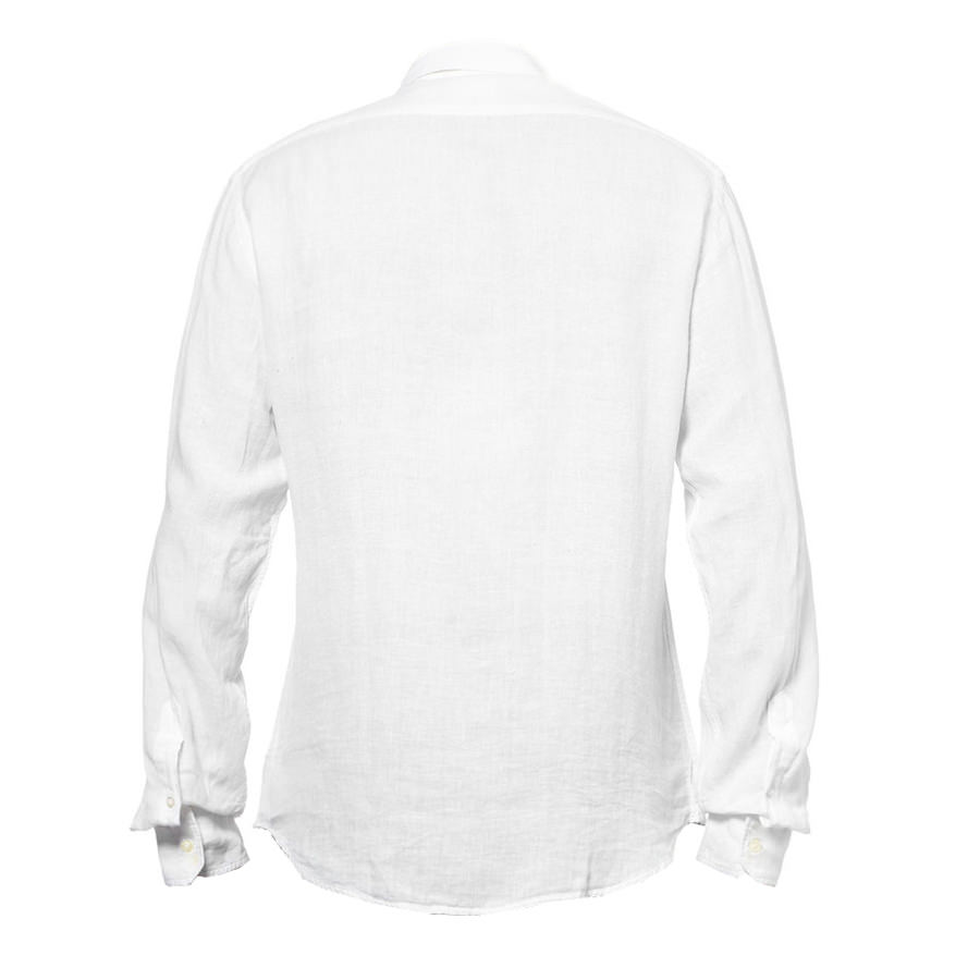 linen shirt white back