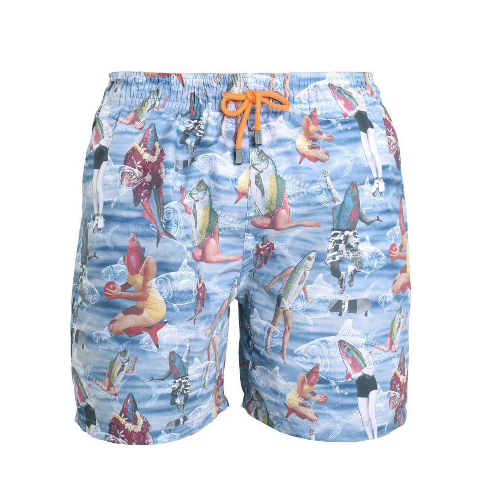 Fish Out of Water Swim Short