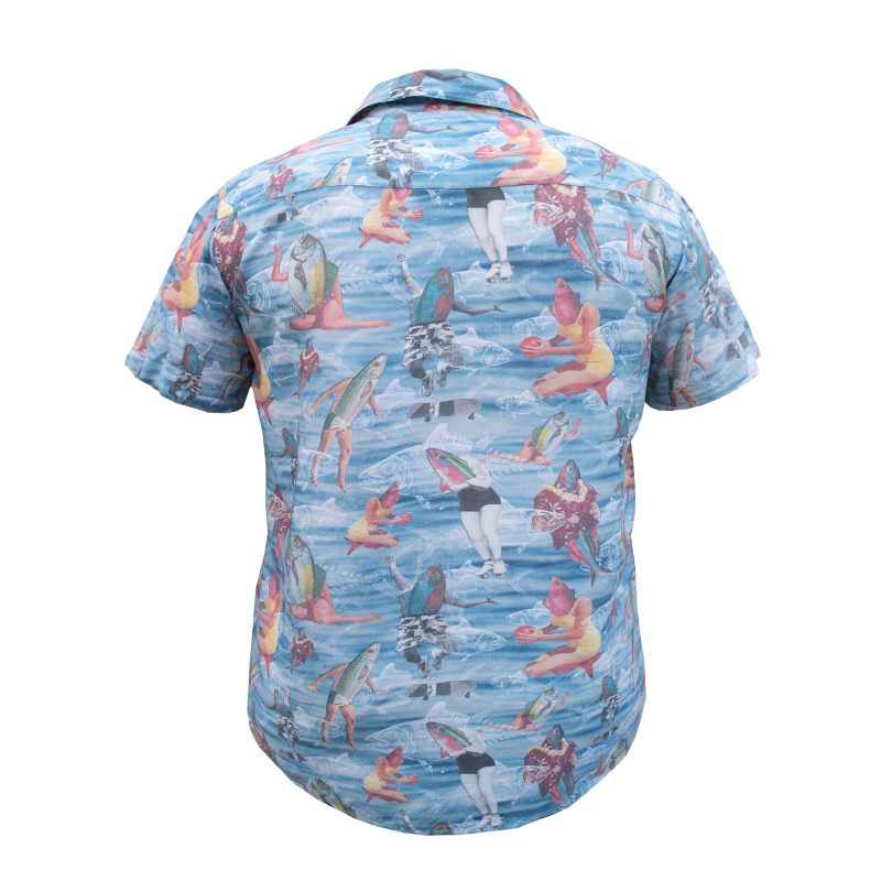 Fish Out Of Water Holiday Shirt Back
