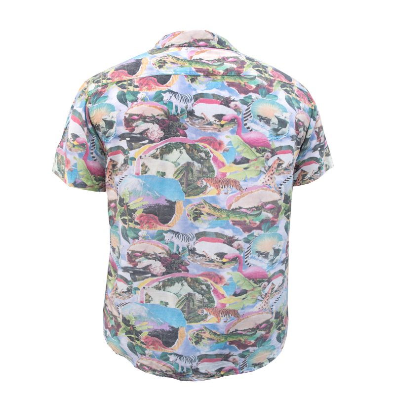 Plastic Paradise Back Holiday Shirt