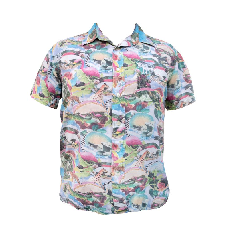 Plastic Paradise Holiday Shirt